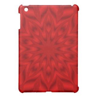 Red star burst cover for the iPad mini