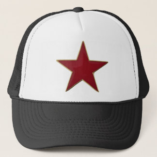 Red star cap
