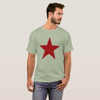 Red Star Communist Socialist China Chinese Left T-Shirt