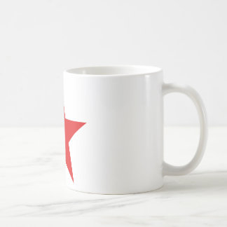 Red Star Communist Socialist Coffee Mug