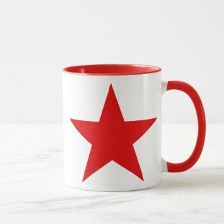 Red Star Communist Socialist Mug