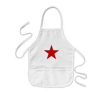Red Star Kids Apron