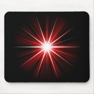red star mouse pad