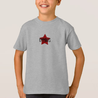 Red Star on Grey SS Tee