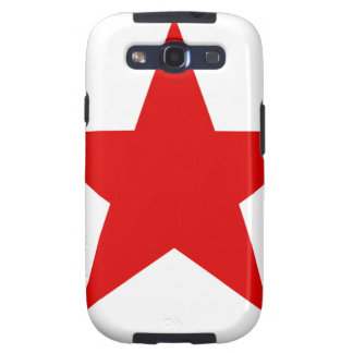 Red Star ★ Samsung Galaxy S3 Cover