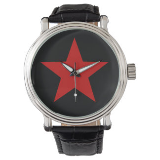 Red Star Wrist Watch