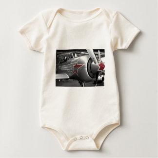 Red Star Yak 52 Baby Bodysuit