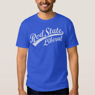 Red State Liberal Tee Shirts