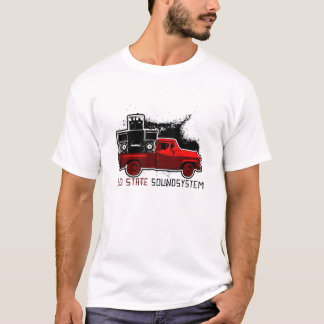 Red State Soundsystem - Red Truck T-Shirt