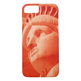 Red Statue of Liberty Barely There iPhone 7 Case