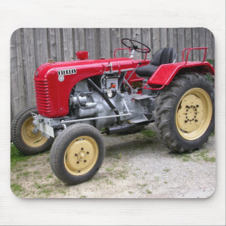 Red Steyr Tractor Mouse Pad