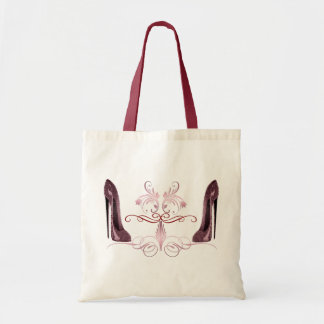 Red Stiletto Shoes Art Bag