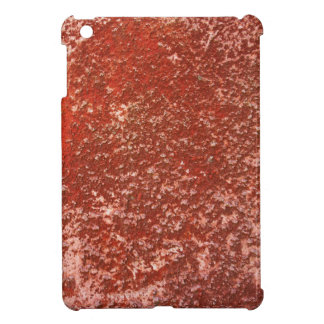 Red stone cover for the iPad mini