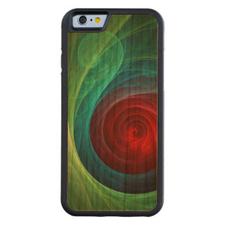 Red Storm Abstract Art Cherry iPhone 6 Bumper Case