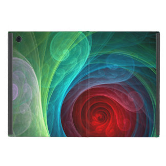 Red Storm Abstract Art iPad Mini Case