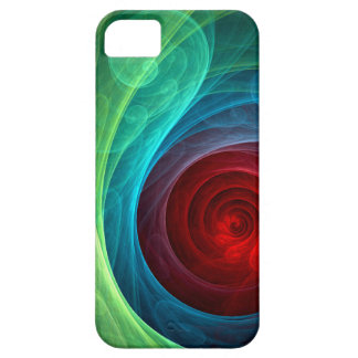 Red Storm Abstract Art iPhone 5 Case For The iPhone 5