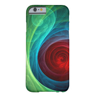Red Storm Abstract Art iPhone 6 Case