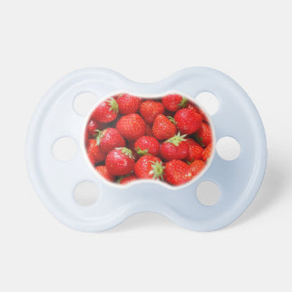 Red Strawberries Pacifiers