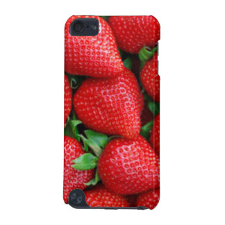 Red Strawberries Pattern Design iPod Touch (5th Generation) Case
