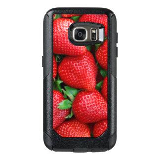 Red Strawberries Pattern Design OtterBox Samsung Galaxy S7 Case