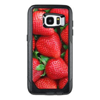 Red Strawberries Pattern Design OtterBox Samsung Galaxy S7 Edge Case