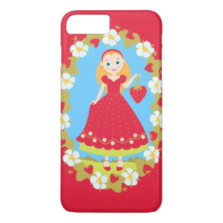 Red Strawberry iPhone 7 Plus Case