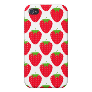Red Strawberry Pern. iPhone 4/4S Cover