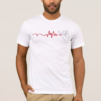Red String Attached with a heartbeat T-Shirt