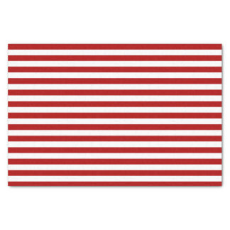 Red Stripe Holiday Tissue Paper