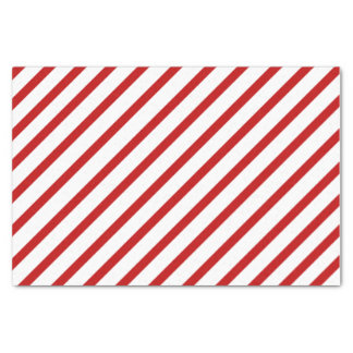 Red Stripe Tissue Paper
