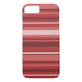 Red stripes iPhone 7 case