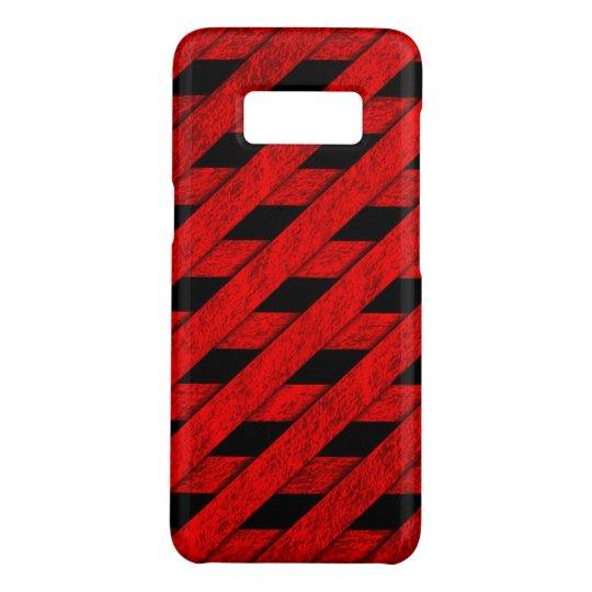 Red Stripes Pattern Case-Mate Samsung Galaxy S8 Case