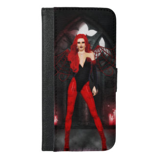 Red Succubus iPhone 6/6s Plus Wallet Case