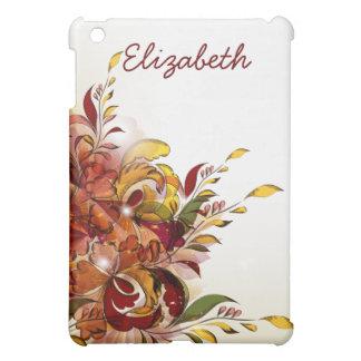 Red Summer Floral iPad Mini iPad Mini Covers