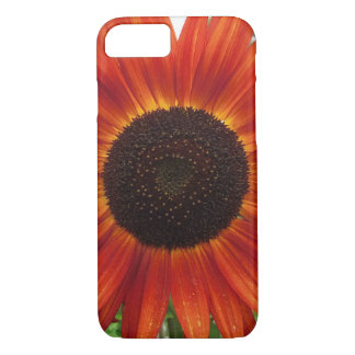 Red sunflower case for iPhone 7