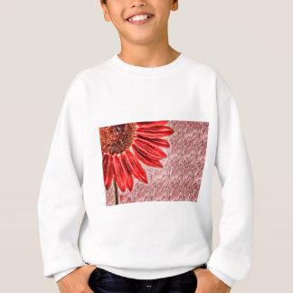 Red Sunflower Sketch Sweatshirt