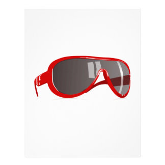 Red Sunglasses Letterhead