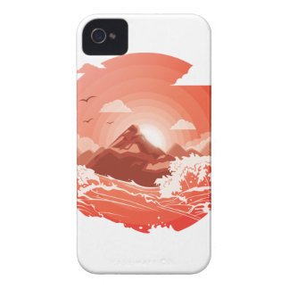 Red sunset Case-Mate iPhone 4 cases