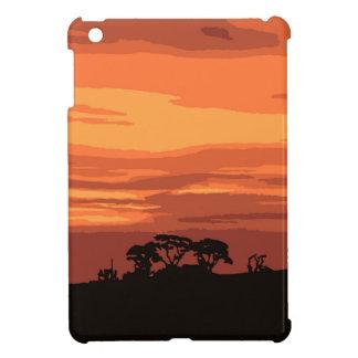 Red Sunset iPad Mini Cases