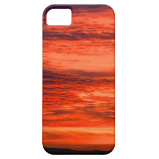 Red Sunset iPhone 5 Cover