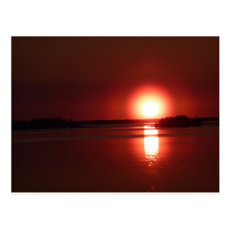 Red Sunset, Russia Postcard