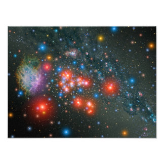 Red Super Giant Cluster Photo Print