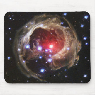 Red Supergiant Star V838 Monocer Mouse Pad