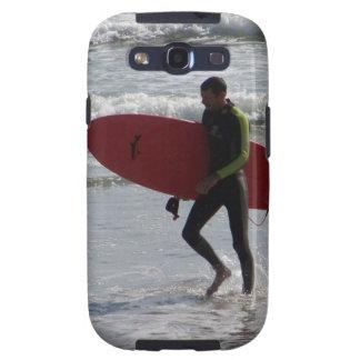 Red Surf Board Galaxy SIII Case