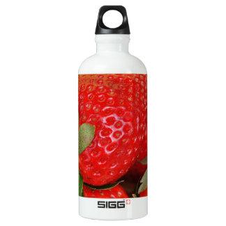 Red Sweet Strawberries Water Bottle
