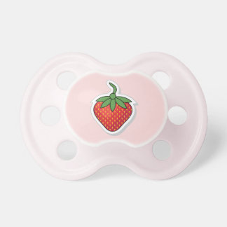 Red Sweet Strawberry Pacifiers