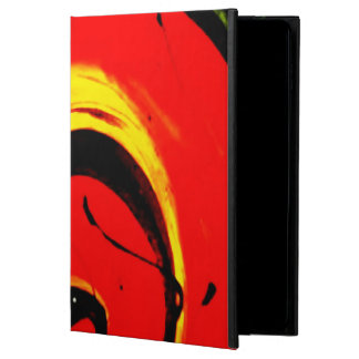 Red Swirl Abstract Art Powis iPad Air 2 Case