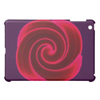 Red Swirl Blood Flower iPad Mini Covers