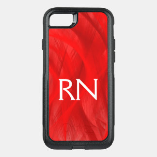 Red Swirl RN phone case