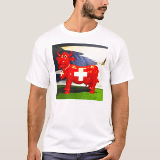 Red Swiss cow T-Shirt